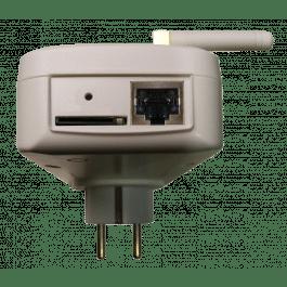 Prise pilotable par GSM et Réseau local avec détection de coupure de courant IQSocket mobile - IQTronic