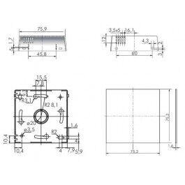 Boîtier pour capteur d'humidité / température - Italtronic