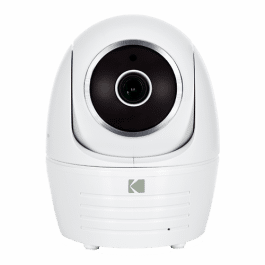Caméra de sécurité intérieure IP Full HD et motorisée - Kodak