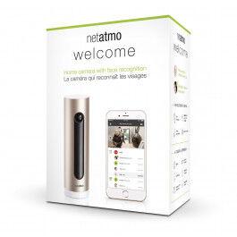Caméra Wi-Fi à reconnaissance faciale Welcome - Netatmo