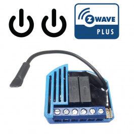 [PRODUIT-D-OCCASION] Module 2 relais Z-Wave Plus encastrable - QUBINO