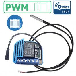 Module thermostat PWM encastrable Z-Wave Plus avec sonde - QUBINO