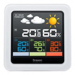 Station Météo Confort Multi-Zone avec écran LCD couleur - Oregon Scientific