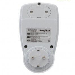 [RECONDITIONNÉ] Consomètre, prise avec mesure d'énergie modèle SCHUKO - Greenblue