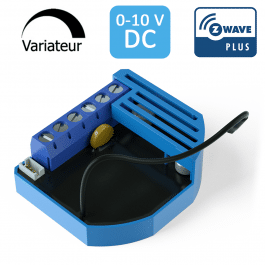 [RECONDITIONNÉ] Module Variateur 0-10V Z-Wave Plus encastrable - QUBINO