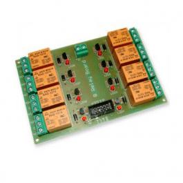 Carte 8 relais 12V - Contrôle TTL (Arduino, Atmega...)