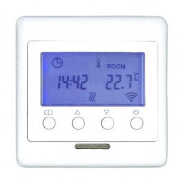 Thermostat Z-Wave + pour chauffage au sol avec écran LCD - TKB Home