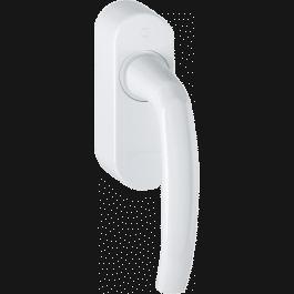 Poignée de fenêtre 9-19 blanc laqué avec EnOcean - Ubiwizz