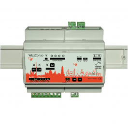 Module de mesure de la consommation EnOcean et IP format DIN - Ubiwizz