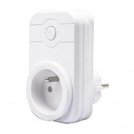 Prise wifi 16A avec prise USB compatible Google Home et Amazon Alexa - Wizelec