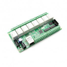 Carte relais Ethernet 12 entrées et 8 sorties - WiFiPower