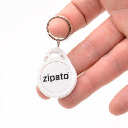 Badge RFID sans contact blanc - Zipato