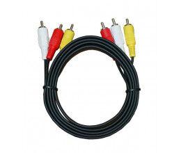 Câble 3 RCA M/M  (Audio / Vidéo) longueur 1.8m