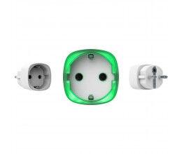 Prise intelligente sans fil blanche avec mesure de la consommation - Ajax Systems