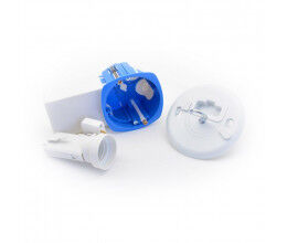 Boite d'encastrement avec poche pour micromodule version point de centre - BLM
