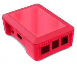 Boitier Raspberry B+ couleur fuchsia - Cyntech