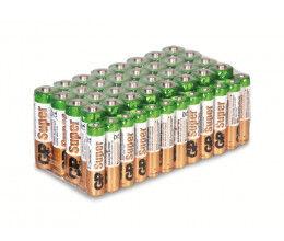 Lot de 44 piles (32x AA et 12x AAA alcalines) - GP Super