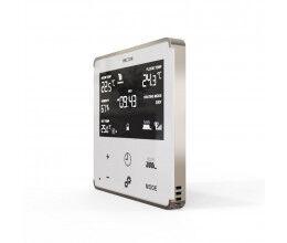 Thermostat Z-Wave+ pour chauffage électrique (blanc/argent) - Heltun