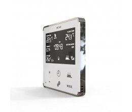 Thermostat Z-Wave+ pour chauffage électrique (blanc/chrome) - Heltun