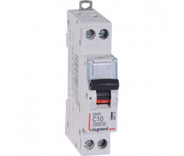 Disjoncteur rail DIN 10A DNX³ avec borniers à vis - Legrand
