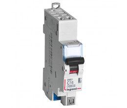 Disjoncteur rail DIN 16A DNX³ avec borniers à vis - Legrand