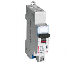 Disjoncteur rail DIN 20A DNX³ avec borniers à vis - Legrand