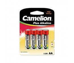 Blister de 4 piles 1.5V AA Super Alcaline - Camelion