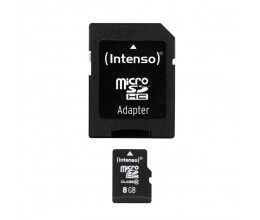 Carte Micro-SD 8GB Classe 10 - Intenso