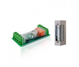 Module de contrôle d'ouverture de porte Z-Wave Plus avec gâche incluse - Popp