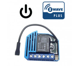 [RECONDITIONNE] Module 1 relai Z-Wave Plus encastrable - QUBINO