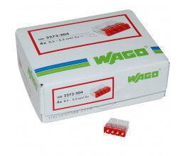 Lot de 100x Connexions automatiques 4 bornes - Wago