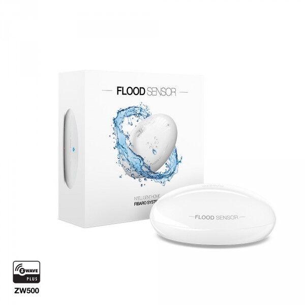 D 233 Tecteur D Inondation Z Wave Plus Flood Sensor Fibaro